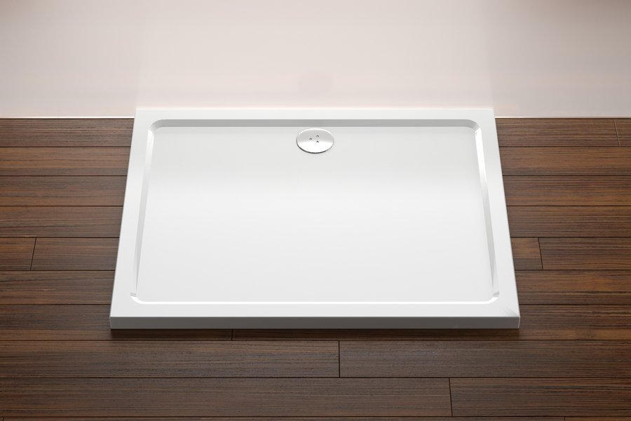 Sprchová vanička GIGANT 100 x 80 LA Ravak, bílá 0
