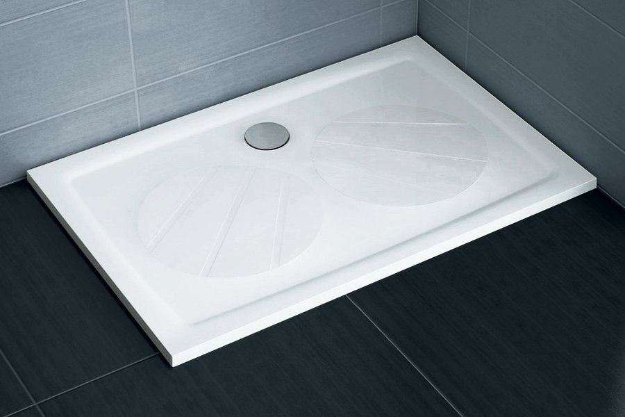 Sprchová vanička litá GIGANT PRO 100 x 80 Ravak, bílá 0