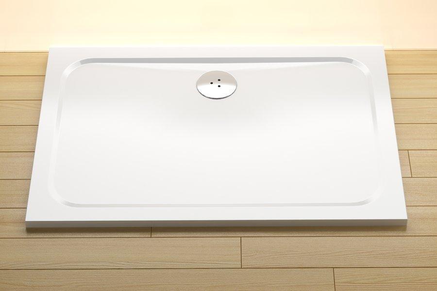 Sprchová vanička obdélníková GIGANT PRO 120 x 80 Ravak CHROME, bílá 0