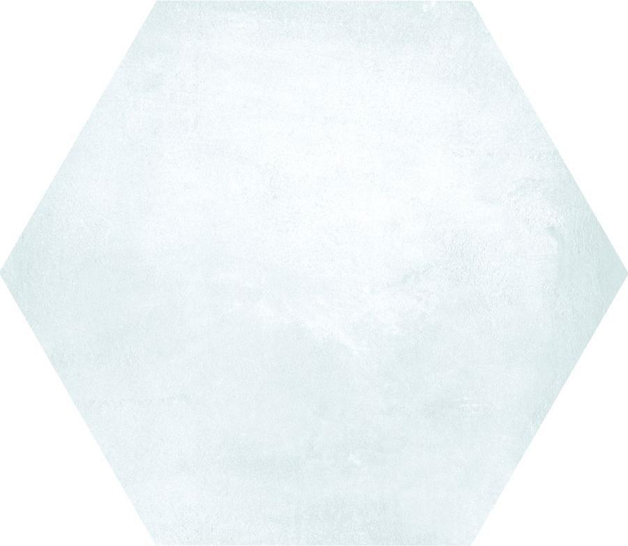 Dlažba KERAMAR white hexagon 60x60, rett