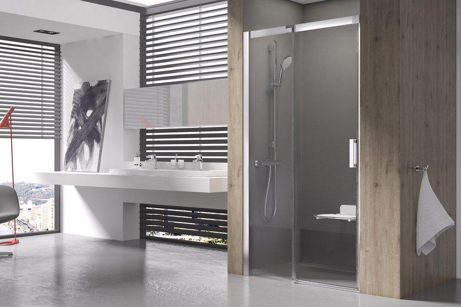 Sprchové dveře dvoudílné MSD2-110 L Ravak MATRIX 1