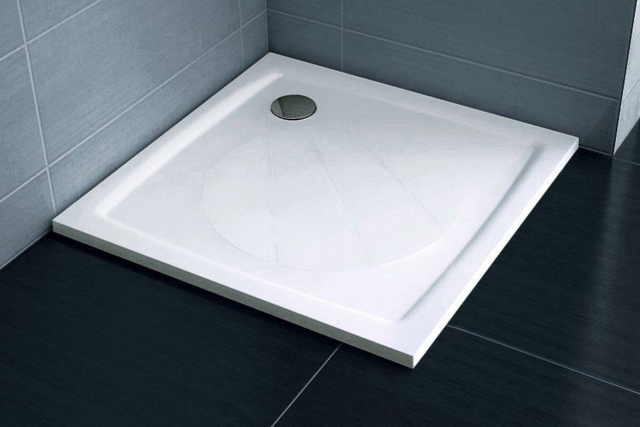 Sprchová vanička litá PERSEUS PRO-100 Ravak GALAXY PRO, bílá