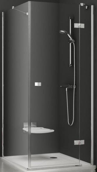 Pevná sprchová stěna pravá SMPS-100 R Transparent Ravak SMARTLine, chrom 1