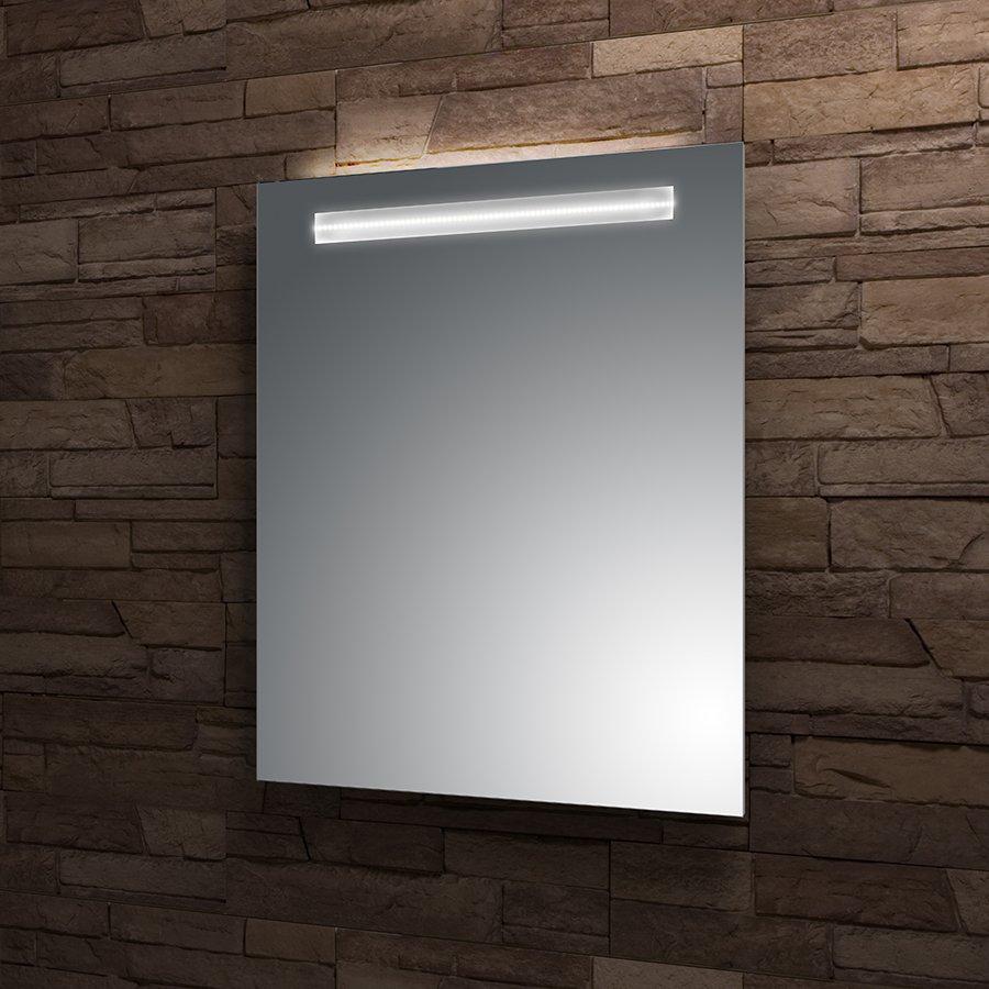 Zrcadlo 160x80 cm Santech Allianz STRIPE LED osvětlení, bez vypínače, horní osvětlení 0