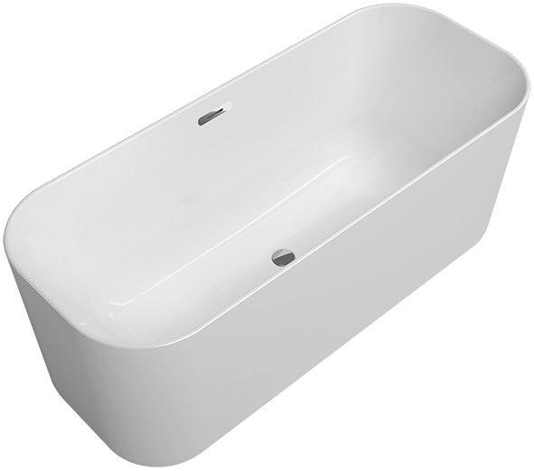 V&B Finion vana samostatně stojící, s lištou Design, Chrom 0