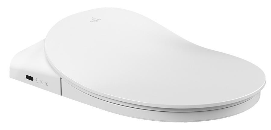 V&B ViClean L4, bidetové sedátko pro klozet, bílá Alpin 1