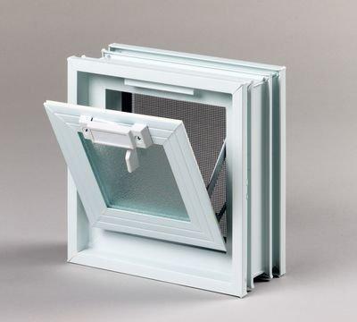 Plastové větrací okno 19x19 cm 1