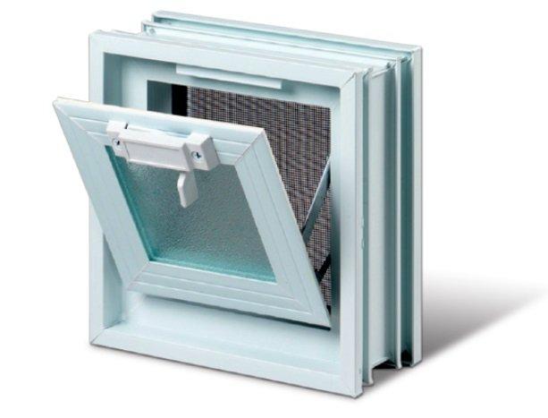 Plastové větrací okno 19x19 cm 0