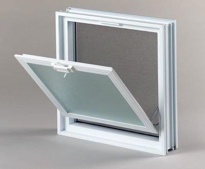 Plastové větrací okno 38x38 cm 1