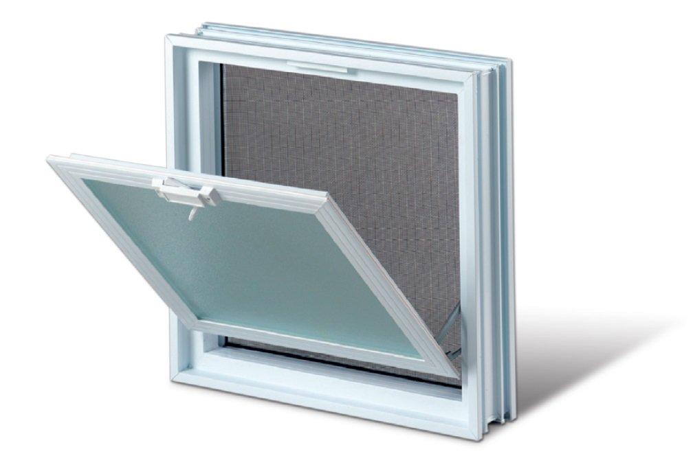 Plastové větrací okno 38x38 cm 0