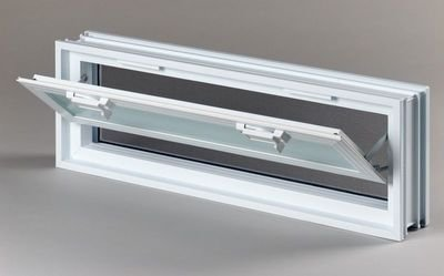 Plastové větrací okno 57x19 cm 1