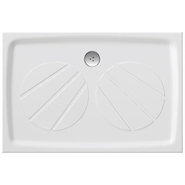 Sprchová vanička litá GIGANT PRO 100 x 80 Ravak, bílá 1
