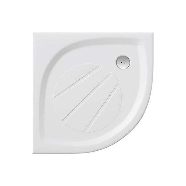 Sprchová vanička litá ELIPSO PRO-100 Ravak GALAXY PRO, bílá 1