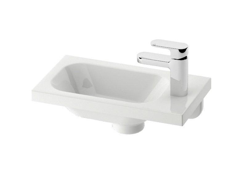 Umývátko CHROME R Ravak pravé, s otvory, bílá 1