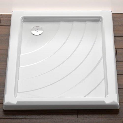 Sprchová vanička ANETA 75 x 90 EX Ravak KASKADA, bílá preview