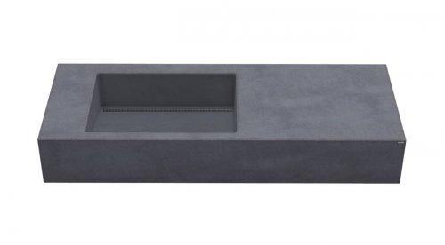 Gravelli umyvadlo SLANT 01 SINGLE antracit 120x45x13cm preview
