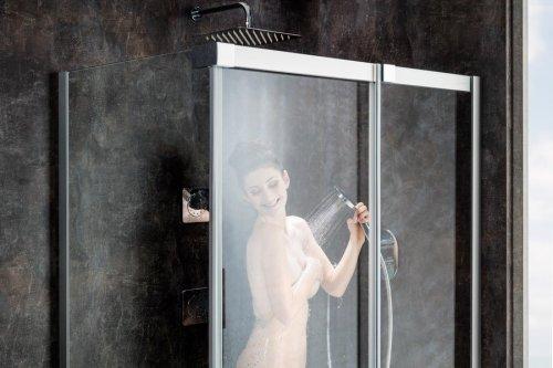 Sprchový kout MSDPS-120/90 R Transparent Ravak MATRIX, pravý, chrom preview