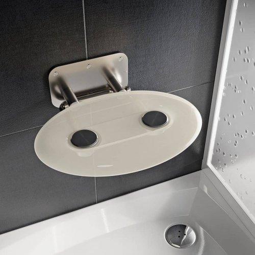 Sprchové sedátko Ravak OVO P II Clear, nerez/čiré preview