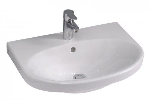 Umyvadlo 60cm Gustavsberg NAUTIC60, bílá preview