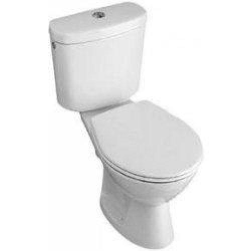 Toaleta kombi Gustavsberg SAVAL 01 FS, bez nádržky, bez sedátka, odpad do země, bílá preview