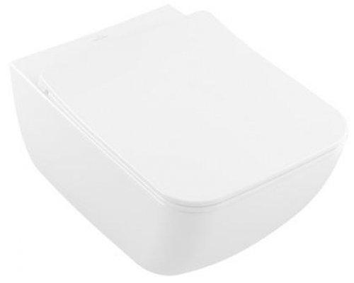 V&B Venticello, klozetové sedátko s poklopem SlimSeat LINE, quick-relase, softclosing, Bílá preview