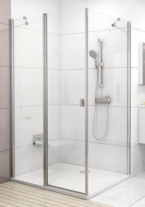 Sprchová pevná stěna CPS-100 Transparent Ravak CHROME, bílá preview