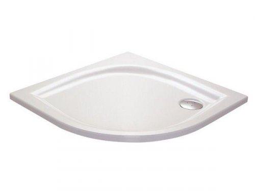 Sprchová vanička ELIPSO-100 LA Ravak GALAXY, bílá preview