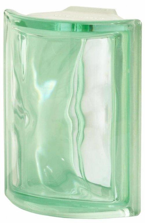 Luxfera Pegasus Angolare O Verde, svlnkou, rohová preview