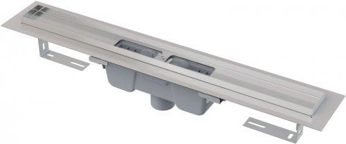 Podlahový žlab AlcaPlast APZ1001-1050 s okrajem, pro perforovaný rošt, svislý odtok preview