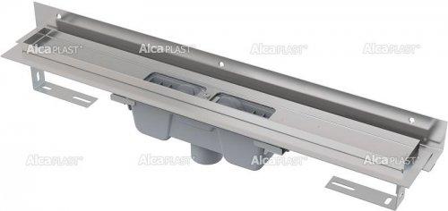 Podlahový žlab AlcaPlast FLEXIBLE APZ1004-750 s okrajem, s límcem, svislý odtok preview
