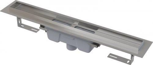 Podlahový žlab AlcaPlast PROFESSIONAL APZ1006-650 s okrajem, pro plný rošt, svislý odtok preview