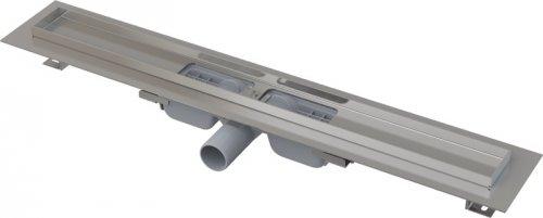 APZ101-1150 Podlahový nerezový žlab snížený AlcaPlast s okrajem preview