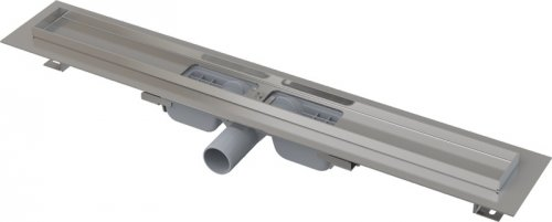 APZ101-750 Podlahový nerezový žlab snížený AlcaPlast s okrajem preview