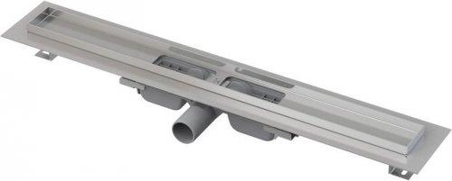 Podlahový žlab APZ1101-750 LOW AlcaPlast, okraj pro perf. rošt, svislý odtok preview