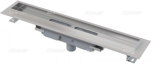 Podlahový žlab APZ1106-550 PROFESSIONAL LOW AlcaPlast, okraj pro plný rošt, svislý odtok preview