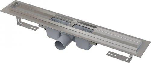 Podlahový žlab nerez 700 mm APZ1-650 AlcaPlast, s okrajem preview