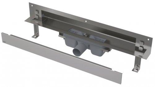 APZ5-SHADE-850 podlahový nerezový žlab AlcaPlast SPA kryt SHADE 900 mm bez okraje, mat preview