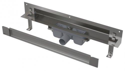 APZ5-TWIN-750 podlahový nerezový žlab AlcaPlast SPA kryt TWIN 800 mm bez okraje pro dlažbu preview
