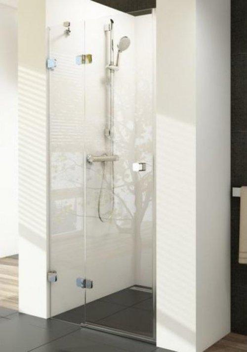 Sprchové dveře dvojdílné BSD2-90 A-L Ravak BRILLIANT, neobsahuje B-Set, chrom preview