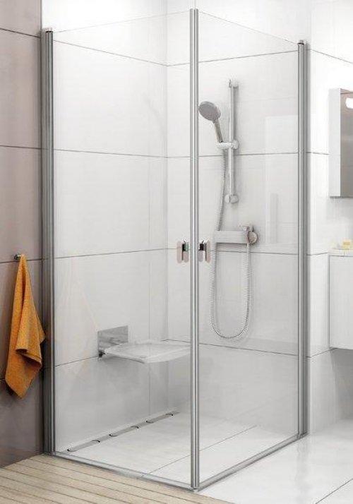 Sprchové dveře CRV1-100 se vstupem z rohu Transparent Ravak CHROME, lesk preview