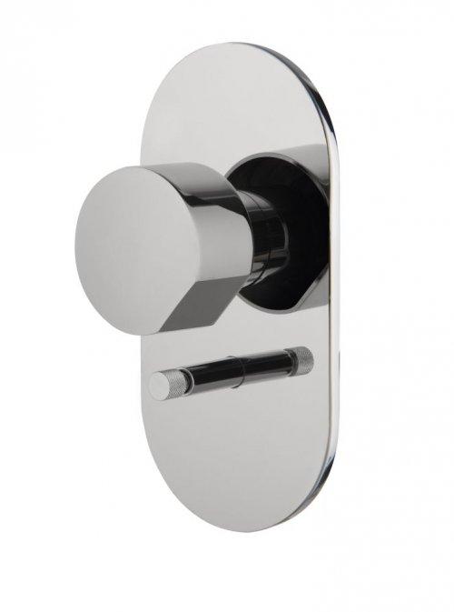 Sprchová podomítková baterie SO Fima, 2 ovládací tlačítka, chrom
