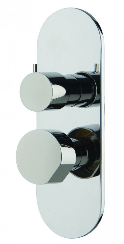Sprchová podomítková baterie SO Fima, 2-3 ovládací tlačítka, chrom
