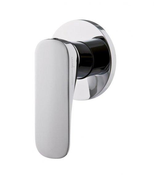 Sprchová podomítková baterie QUAD Fima, chrom