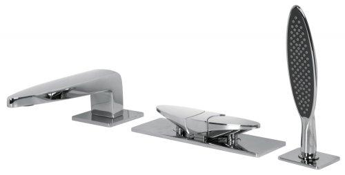Vanový set baterie se sprchovou hlavicí ECLIPSE, FIMA, výpusť 157 mm, chrom