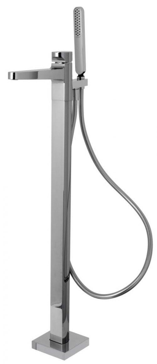 Vanová baterie na podlahu NEXT Fima, sprchový set, chrom