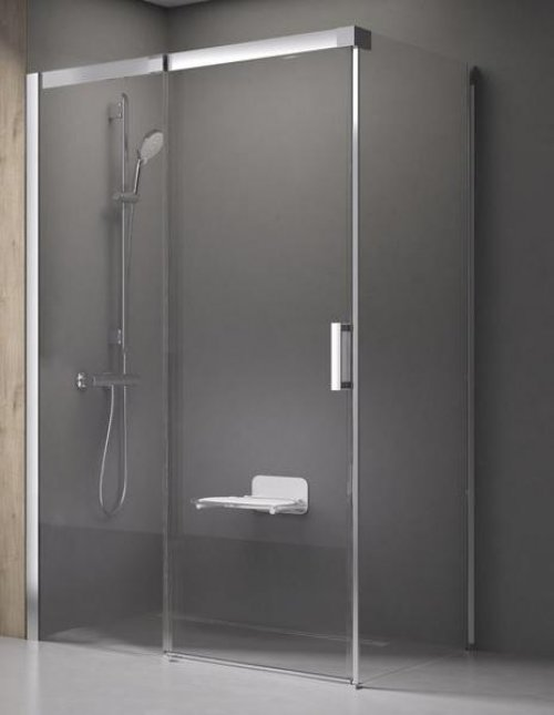 Sprchový kout MSDPS-100/100 L Transparent Ravak MATRIX, levý, bílá preview