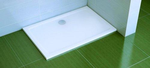 Sprchová vanička litá GIGANT PRO 120 x 90 Flat Ravak, bílá preview