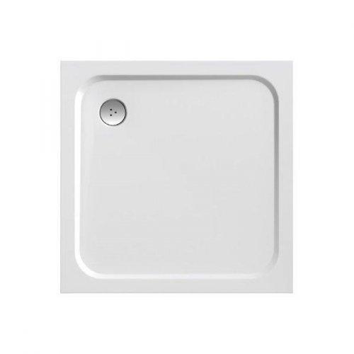 Sprchová vanička čtvercová PERSEUS PRO-100 Ravak CHROME, bílá preview