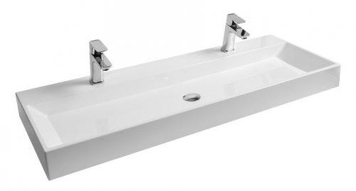 Umyvadlo 120 x 45 cm Ravak NATURAL 1200, bez přepadu, bílá preview