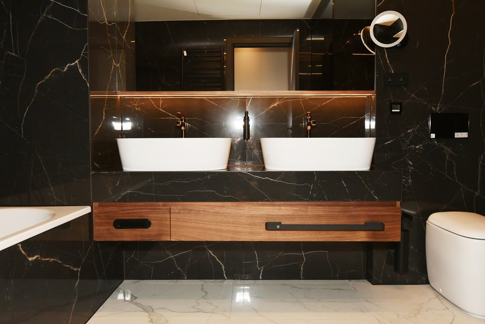 Koupelny v hotelu President